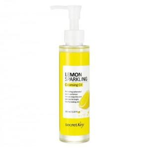 Secret Key Гидрофильное масло с экстрактом лимона Lemon Sparkling Cleansing Oil, 150 мл