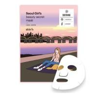 Skin79 Успокивающая тканевая маска для лица Seoul Girl's Beauty Secret Mask Soothing, 20 гр