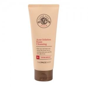 The Face Shop Пенка для умывания для жирной кожи Clean Face Acne Foam Cleansing, 150 мл
