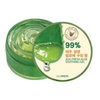 The Saem Универсальный увлажняющий гель с алоэ Jeju Fresh Aloe Soothing Gel 99%, 300 мл