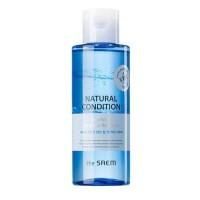The Saem Средство двухфазное для снятия макияжа с термальной водой Natural Condition Sparkling Lip & Eye Remover, 155 мл
