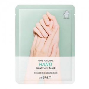 The Saem Маска для рук Pure Natural Hand Treatment Mask, 2*8 гр
