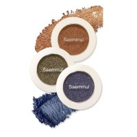 The Saem Тени для век мерцающие Saemmul Single Shadow (Shimmer), 2 гр