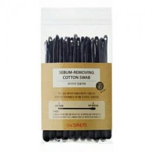 Ватные палочки для очистки пор The Saem Sebum-Removing Cotton Swab, 2*20 шт