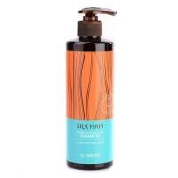 The Saem Шампунь для волос с арганой Silk Hair Argan Intense Care Shampoo, 380 мл