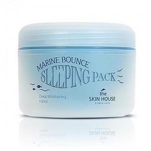 The Skin House Ночная маска с морским коллагеном Marine Bounce Sleeping Pack, 100 мл